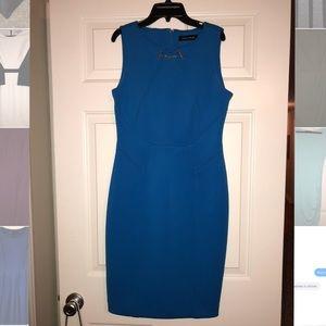 Blue Ivanka Trump dress